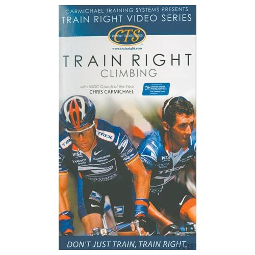 Image 0 of Carmichael Training Systems Cycleops/cts Climbing On DVD