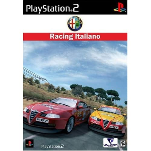 Alfa Romeo Racing Italiano For PlayStation 2 PS2 With Manual and Case