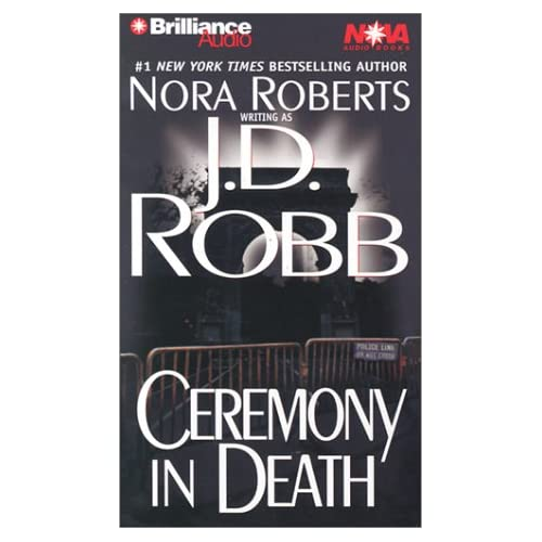 Image 0 of Ceremony In Death In Death Series By Robb J D Ericksen Susan Reader On Audio Cas