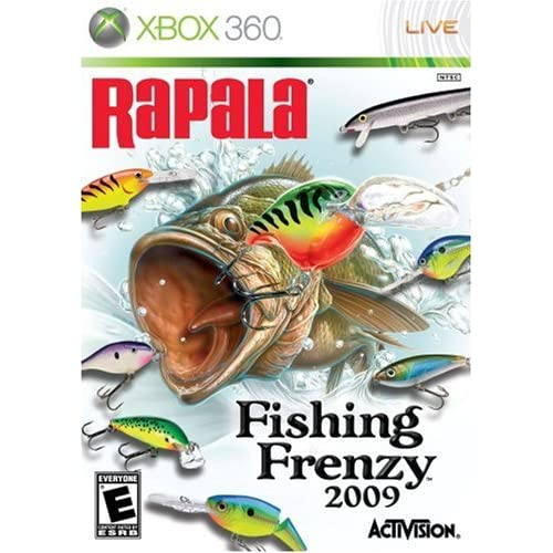 Rapala fishing frenzy for xbox 360 for Xbox 360 fishing games