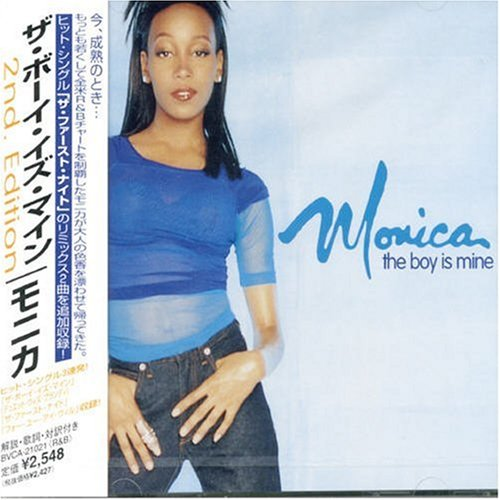 Image 0 of Boy Is Mine By Monica On Audio CD Album 1999