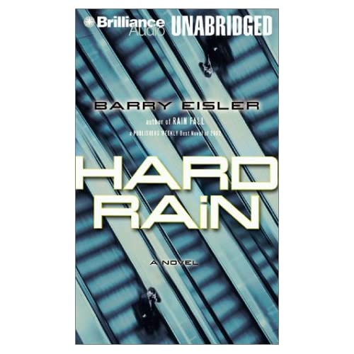 Image 0 of Hard Rain John Rain Series On Audio Cassette
