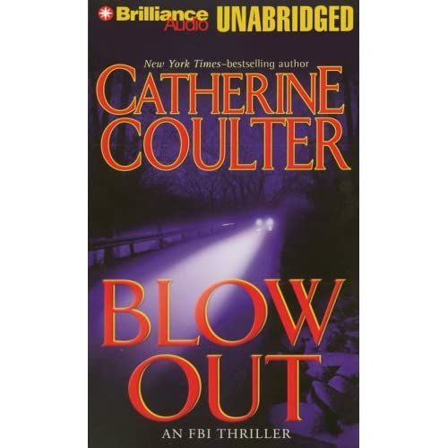Image 0 of Blowout FBI Thriller By Coulter Catherine Burr Sandra Reader On Audio Cassette