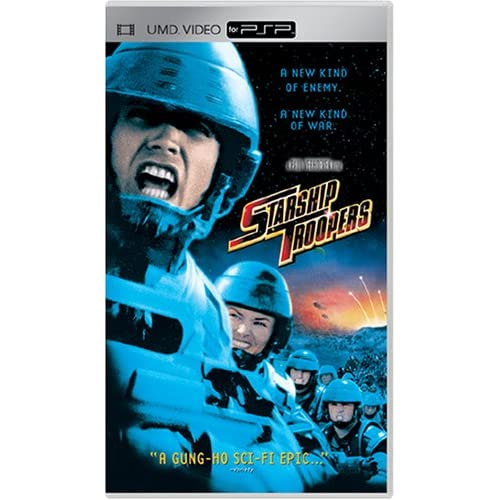 Image 0 of Starship Troopers Movie UMD Movie For PSP