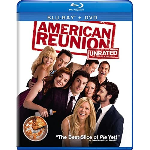 American Reunion Blu-Ray On Blu-Ray With Jason Biggs