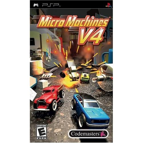 Image 0 of Micro Machines V4 Sony For PSP UMD Flight