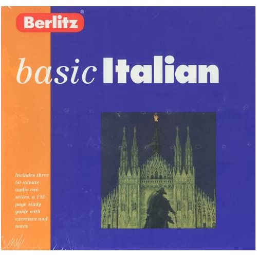 Image 0 of Italian With Book Berlitz Basic Italian Edition By Berlitz Publishing Company Gl