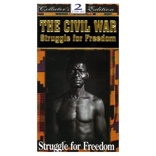 Image 0 of The Civil War: Struggle For Freedom On VHS