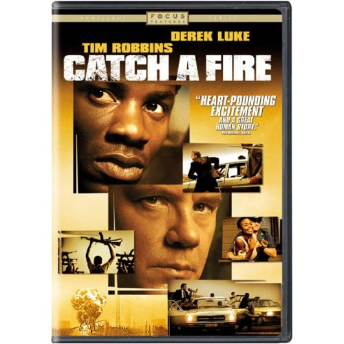 Image 0 of Catch A Fire On DVD with Tim Robbins Drama