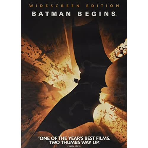 Image 0 of Batman Begins/Widescreen On DVD