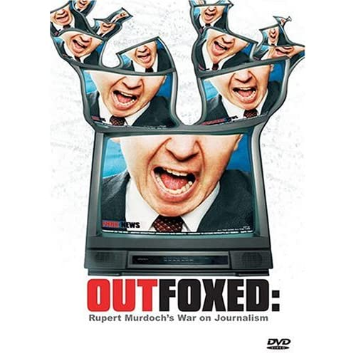 Image 0 of Outfoxed Rupert Murdoch's War On Journalism On DVD with Douglas Cheek