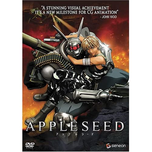 Image 0 of Appleseed Widescreen 2004 On DVD With Ai Kobayashi
