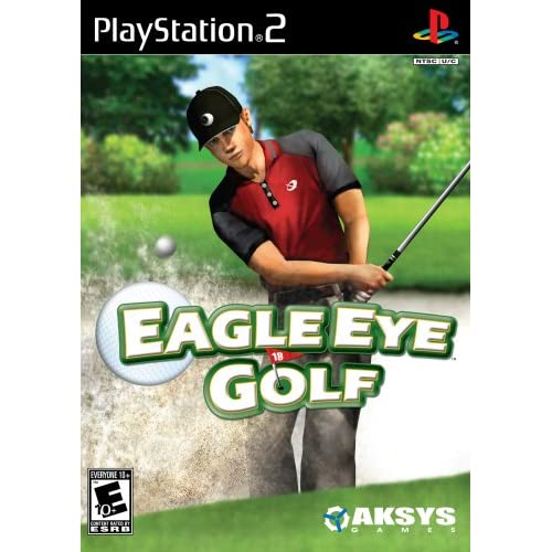 Eagle Eye Golf For PlayStation 2 PS2 With Manual And Case