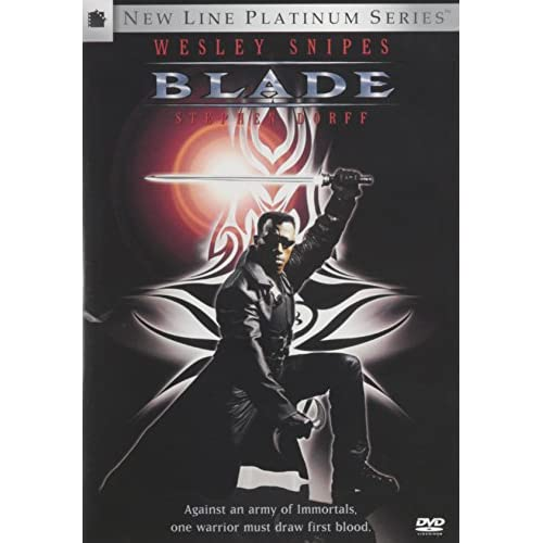 Blade On DVD With Wesley Snipes