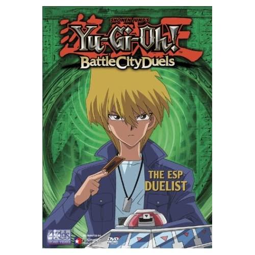 Yu-Gi-Oh Vol 3 The ESP Duelist Saga 2 On DVD With Dan Green