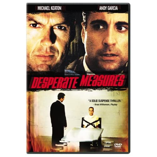 Image 0 of Desperate Measures On DVD With Michael Keaton