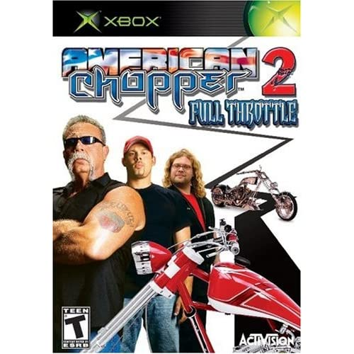 American Chopper 2: Full Throttle For Xbox Original With Manual and Case