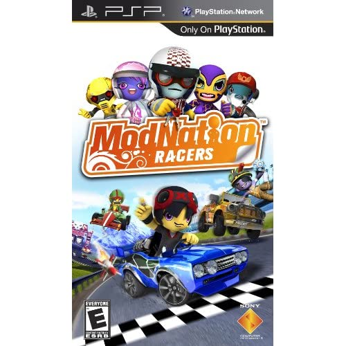 Image 0 of Modnation Racers Sony For PSP UMD Racing