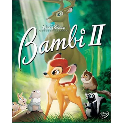 Image 0 of Bambi II On DVD With Patrick Stewart Disney