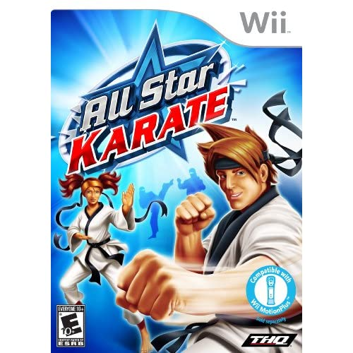 All Star Karate For Wii With Manual and Case