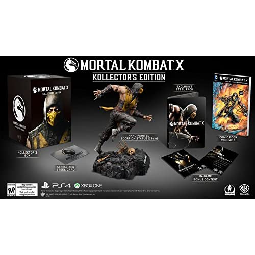 Fighting Games For Xbox 1 : Mortal kombat kollector s edition for xbox one fighting