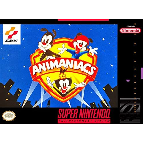 Animaniacs For Super Nintendo SNES