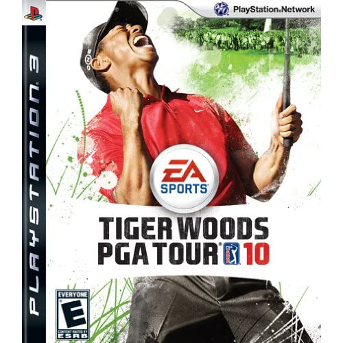 Tiger Woods PGA Tour 10 For PlayStation 3 PS3 Golf
