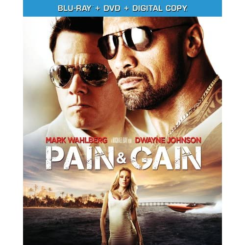 Image 0 of Pain And Gain On Blu-Ray With Mark Wahlberg