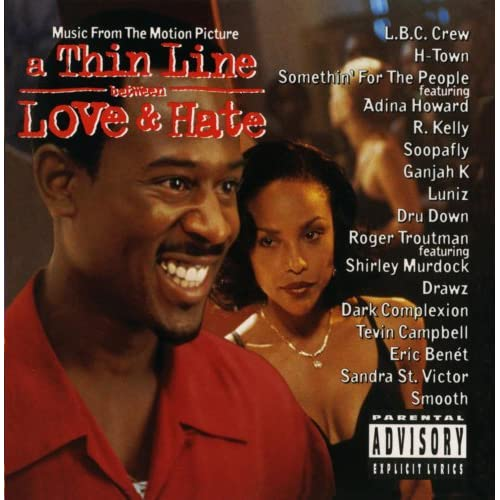 Image 0 of A Thin Line Between Love And Hate Music From The Motion Picture On Audio CD Albu