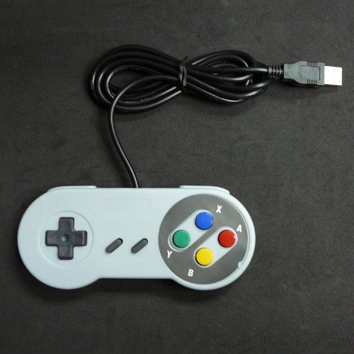 Image 0 of Retro Super Nintendo SNES USB Controller For PC MAC Controllers