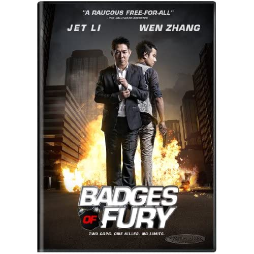 Image 0 of Badges Of Fury On DVD With Jet Li