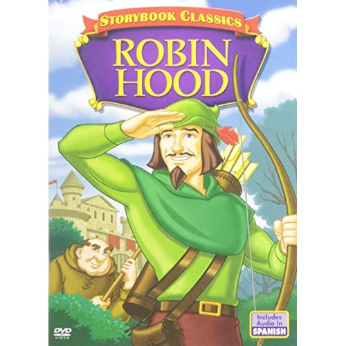 Image 0 of A Storybook Classic: Robin Hood On DVD