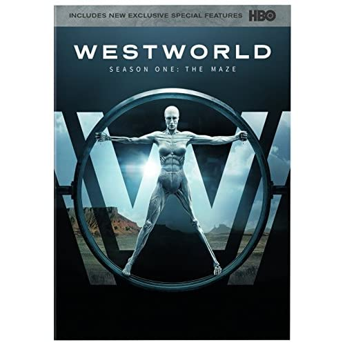 Westworld: The Complete First Season On DVD With Anthony Hopkins Drama