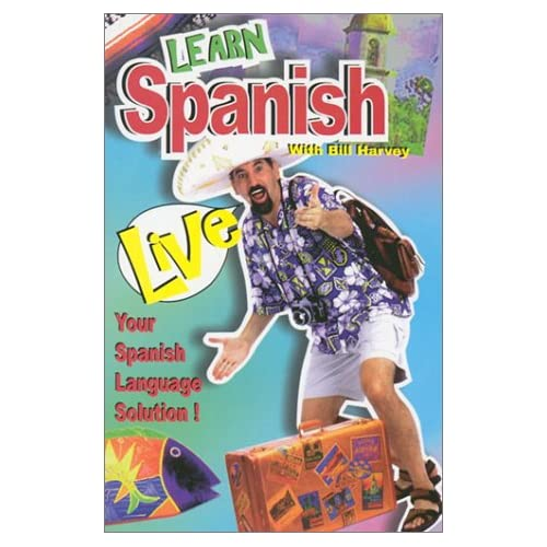 Image 0 of Learn Spanish Live English And Spanish Edition By Bill Harvey On Audio Cassette