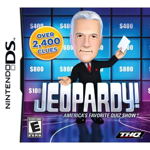 Image 0 of Jeopardy For Nintendo DS DSi 3DS