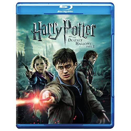Image 0 of Harry Potter And The Deathly Hallows Part 2 On Blu-Ray With Daniel Radcliffe