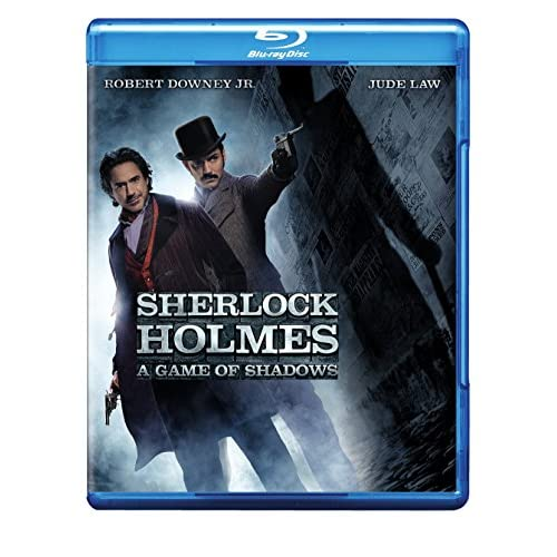 Image 0 of Sherlock Holmes: A Game Of Shadows Blu-Ray On Blu-Ray With Robert Downey Jr