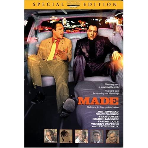 Image 0 of Made Artisan On DVD with Vince Vaughn Mystery