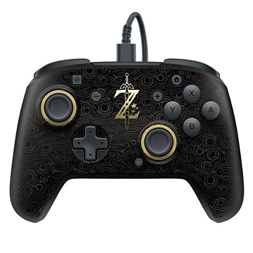 PDP Faceoff Deluxe Wired Pro Controller For Nintendo Switch 500-069-NA-LZ00