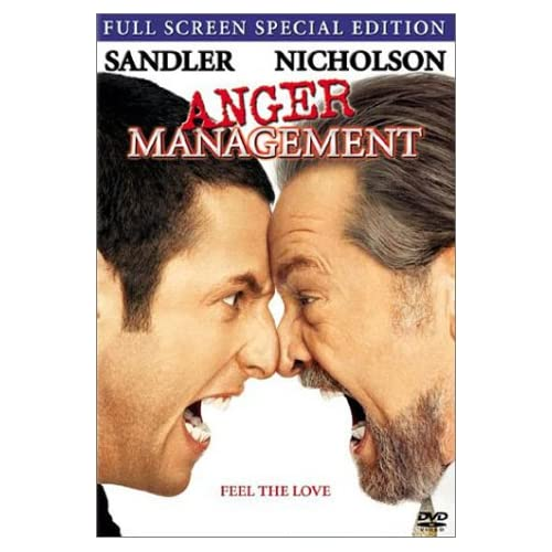 Anger Management Full Screen Edition On DVD