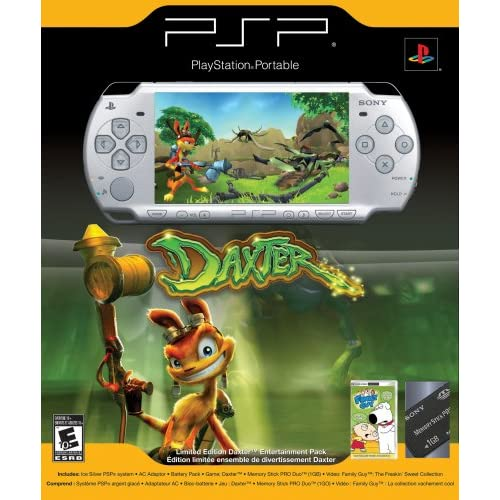Playstation Portable Limited Edition Daxter Ice Silver Psp 2000 1gb Very Good 8z 711719889106 Ebay