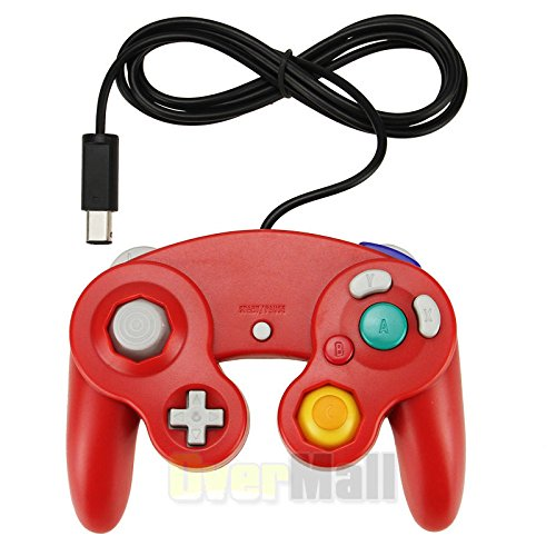 Image 0 of New Controller For Nintendo GameCube GC Wii Red For Wii And Wii U