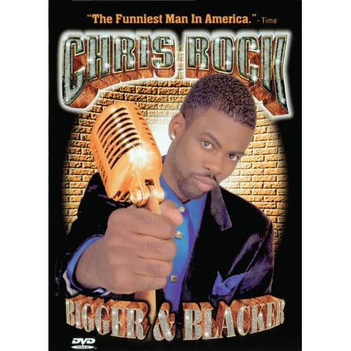 Image 0 of Chris Rock Bigger And Blacker On DVD Music & Concerts