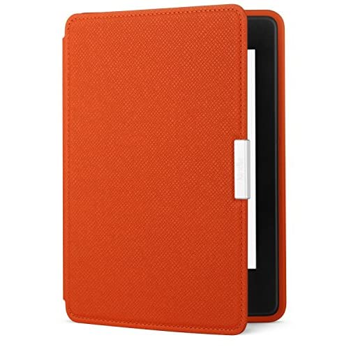 Amazon Kindle Paperwhite Leather Case Persimmon Fits All Paperwhite Generations
