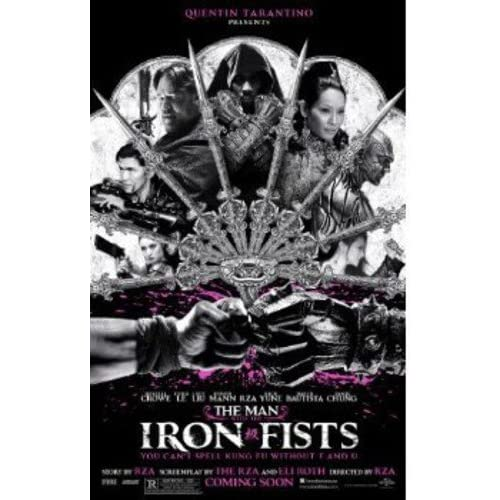 Image 0 of The Man With The Iron Fists Blu-Ray On Blu-Ray With Rick Yune