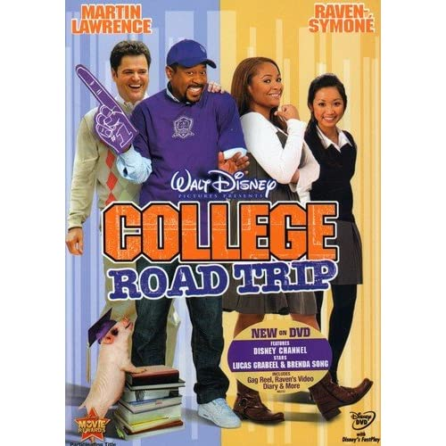 Image 0 of College Road Trip On DVD With Martin Lawrence Disney Comedy