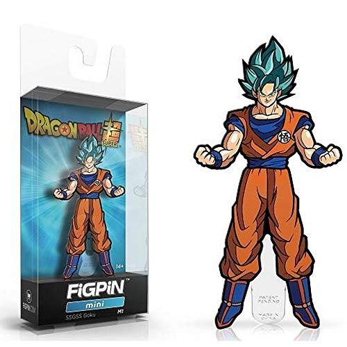 Figpin Mini Dragon Ball Super: Ssgss Goku Exclusive Toy Action