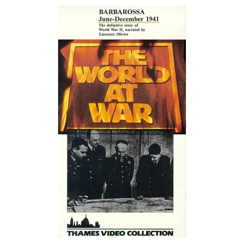 Image 0 of The World At War: Barbarossa June-December 1941 On VHS With Laurence Olivier