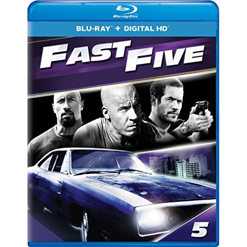 Image 0 of Fast Five Blu-Ray On Blu-Ray With Vin Diesel 5