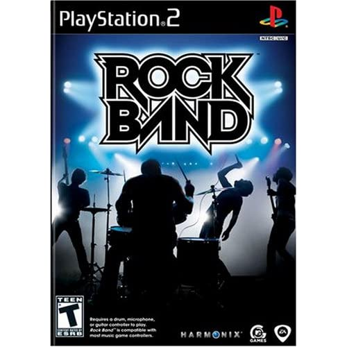 Rock Band Game Only For PlayStation 2 PS2 Music